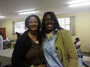 With Sis. Philapina