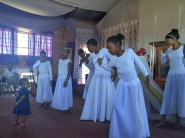 The praise dance ministry