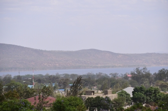 A view of Lake Nakuru from my hotel